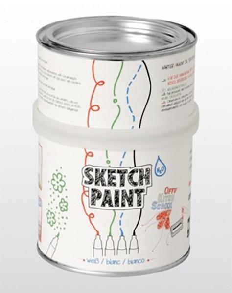 SketchPaint Wandtafelfarbe «Whiteboard»