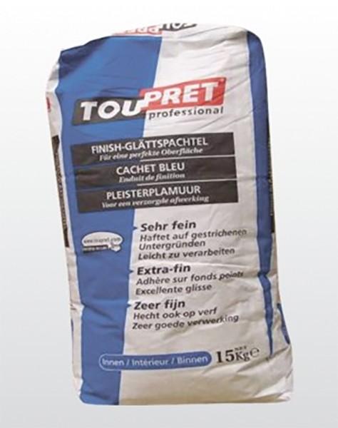 TOUPRET Finish-Glättespachtel Innen «Cachet Bleu»
