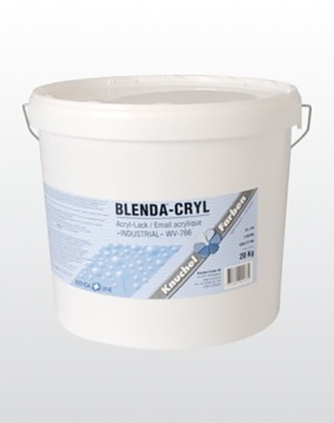 BLENDA-CRYL «INDUSTRIAL» WV-766 seidenmatt (Streichversion)