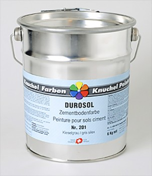 DUROSOL Zementbodenfarbe 6kg Standard