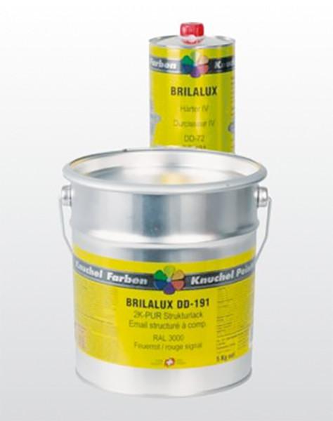BRILALUX 2K-PUR Strukturlack DD-191 Komp.A Kat.0 1kg RAL