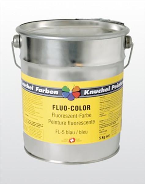 FLUO-COLOR Fluoreszent-Leuchtfarbe 5kg