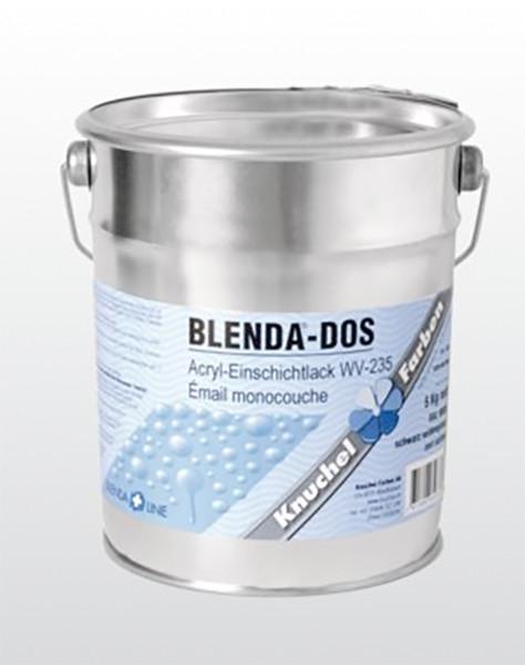 BLENDA-DOS Einschichtlack WV-235 1kg RAL