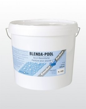 BLENDA-POOL Acryl-Bassinfarbe hellblau