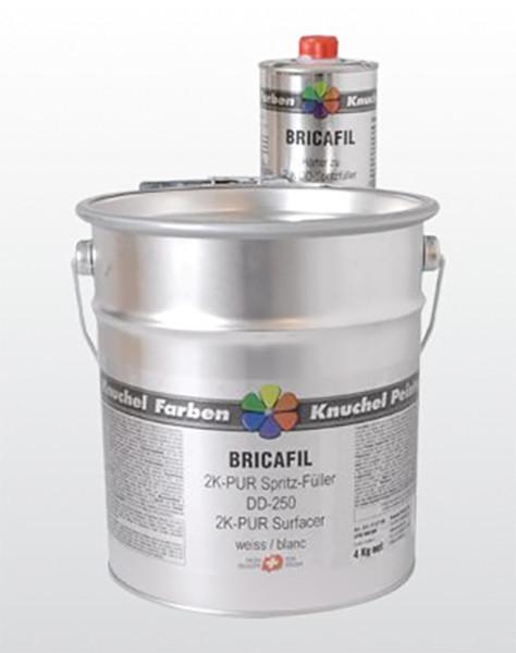 BRICAFIL 2K-PUR Spritzfüller DD-250 Komp.A weiss