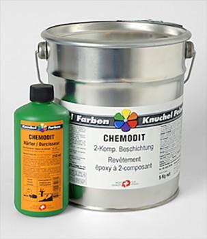 CHEMODIT 2K-Epoxy Beschichtung gelb inkl. Härter