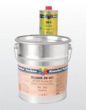 SILADUR 2K-PUR Strukturlack DD-451 fein Komp.B