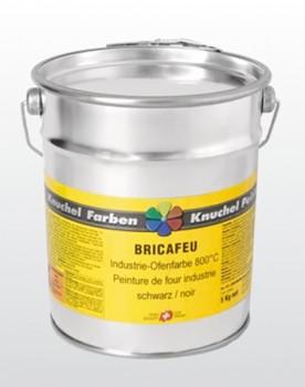 BRICAFEU Industrie-Ofenfarbe 800°C schwarz