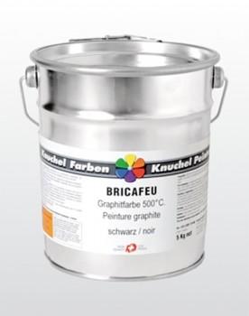 BRICAFEU Graphitfarbe 500°C schwarz