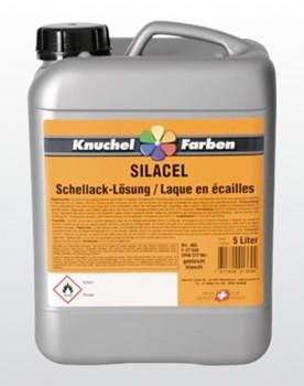 SILACEL Schellack-Lösung farblos, gebleicht