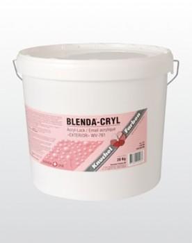 BLENDA-CRYL «EXTERIOR» WV-761 seidenglanz (Streichversion) 17kg RAL