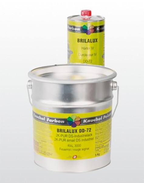 BRILALUX 2K-PUR DS-Industrielack DD-72 seidenglanz Komp.A 1kg RAL