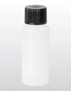 Kunststoff-Flasche rund