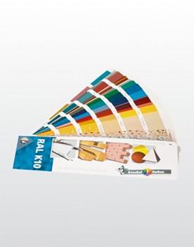 RAL-Farbkarte K-10