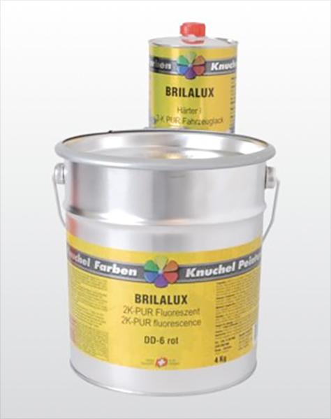 BRILALUX 2K-PUR Fluoreszent-Leuchtfarbe