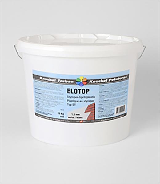 ELOTOP Styropor-Spritzplastik Typ ST