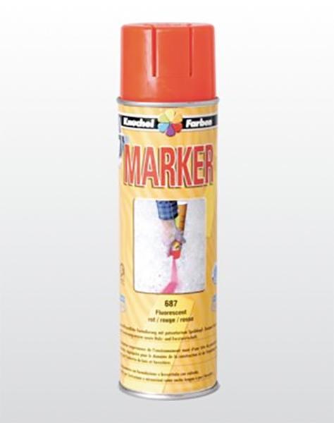 MARKER Markierspray «Baustelle»
